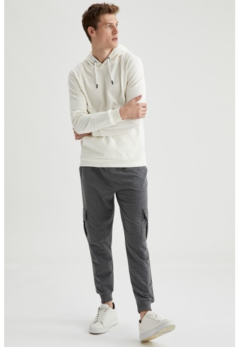 DeFacto grey Slim Trousers C7818AA7BE54B1GS_1
