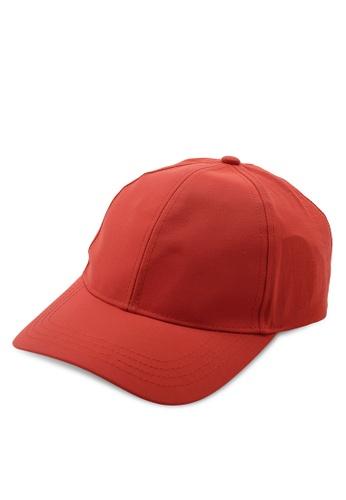 14615a893 Red Tech Curve Peak Cap