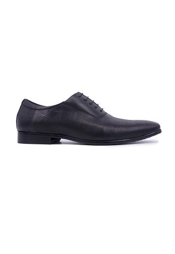 Hanson Bootmaker black Hanson Bootmaker Laceup Oxford- Black B25A3SH0020047GS_1