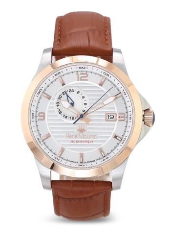 René Mouris brown Cygnus - 46mm Automatic Watch BCBB8ACBA5F1A6GS_1