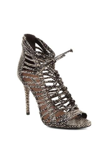 Covet black Arezzo Alicia High Heeled Sandals CO331SH02FOVPH_1