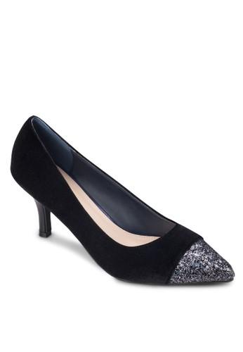 閃zalora 包包評價飾尖頭高跟鞋, 女鞋, 鞋