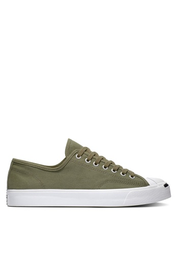 Converse green Jack Purcell Gold Standard Play Bold Ox Sneakers ED61DSHC9C6F0CGS_1