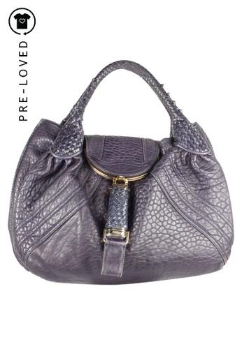 FENDI blue Pre-Loved fendi Spy Bag EBDF5AC9FB7562GS_1