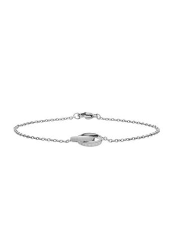 Daniel Wellington silver Elan Unity Bracelet Silver 185mm 10D5EACDE0A643GS_1