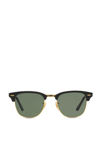 Buy Ray-Ban Clubmaster Folding RB2176 Sunglasses Online   ZALORA ... ca655fcafb