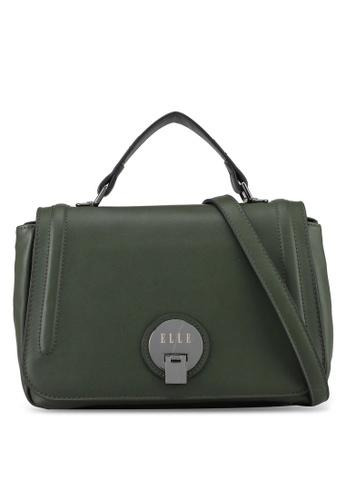 ELLE green Caressa Sling Bag 1F02FAC97A7C5EGS_1