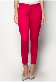 Colored 5-Pocket Skinny Pants