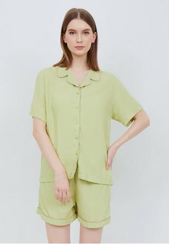 madeleine green BELINDA GREEN SHORT A8D83AA5ABF66CGS_1