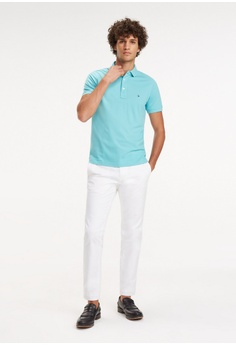 e3d55a54 Tommy Hilfiger TOMMY SLIM POLO S$ 129.00. Sizes S M L XL XXL