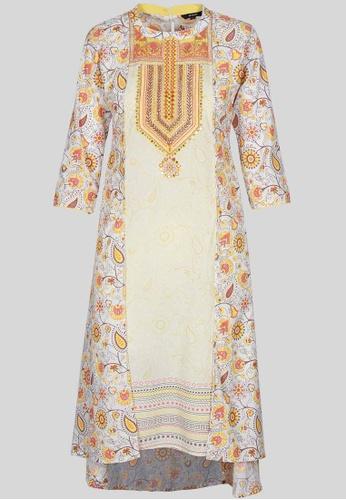 Le Reve multi Le Reve Princess A-Line Floral Tunic Dress D2A9DAA299C930GS_1