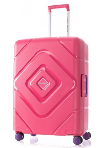 American Tourister pink American Tourister Trigard Spinner 66/24 TSA 05C71ACBC187E3GS_1