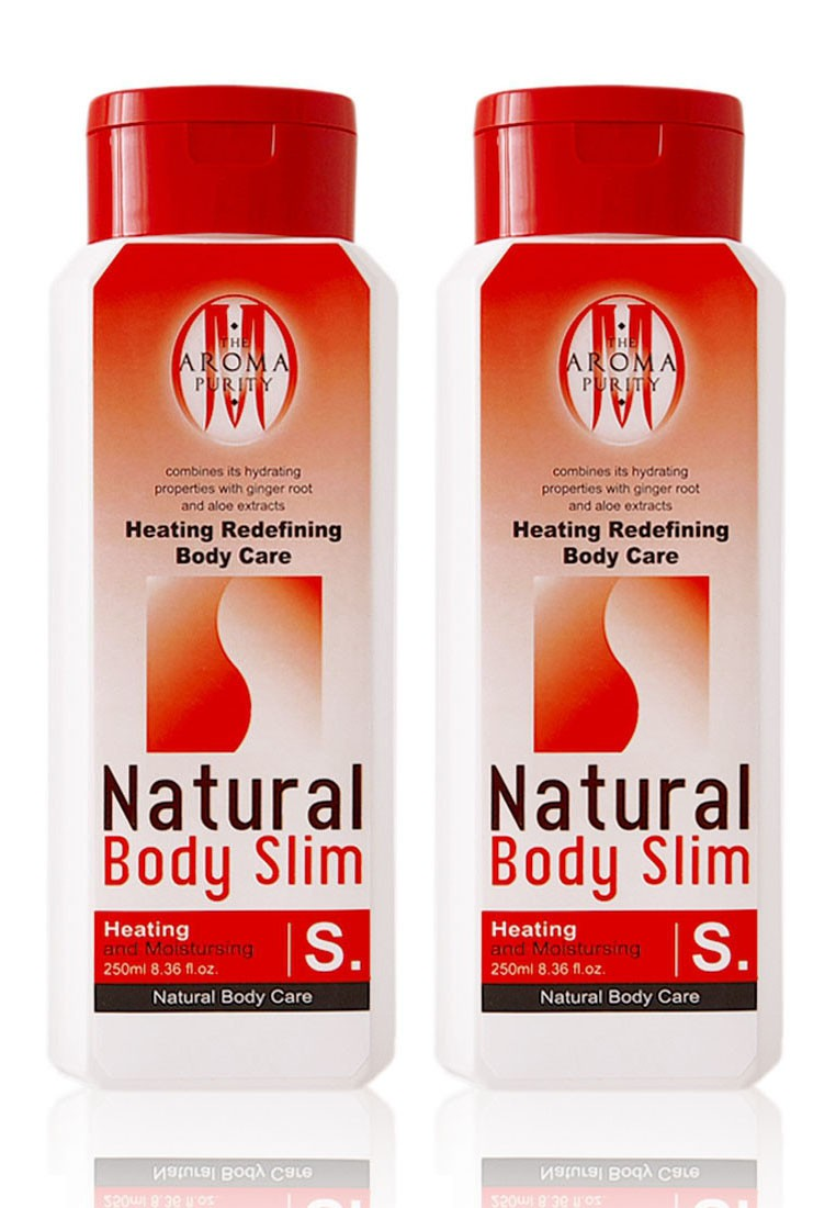 Natural Body Slim (Heating Redefining Body Care) *2 bottles