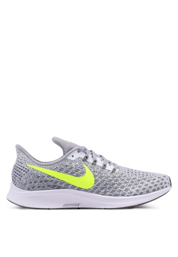 Nike grey and white Nike Air Zoom Pegasus 35 Shoes 46AC6SH6EF93A4GS_1