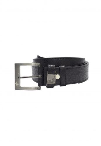 POLOVENZI black Polovenzi Men Leather Belt 8E312AC006B56FGS_1