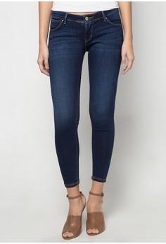 Super Low Waist, Super Skinny Denim Pants