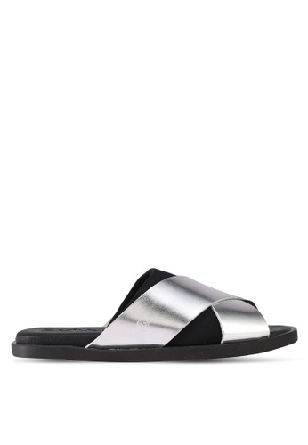 House of Avenues silver Casual Sliders CD164SH6B6DFBBGS_1