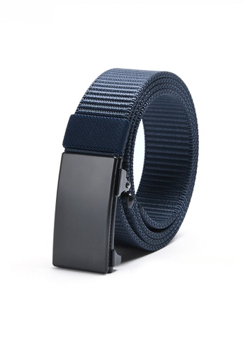 Twenty Eight Shoes blue Casual Street Style Automatic Black Color Buckle Belt JW TS-19 4985BACC9AF075GS_1