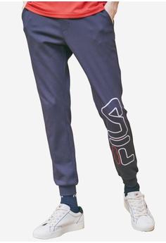 a13189ef96bd FILA navy FILA Logo Knit Pants 36708AA1B71934GS_1