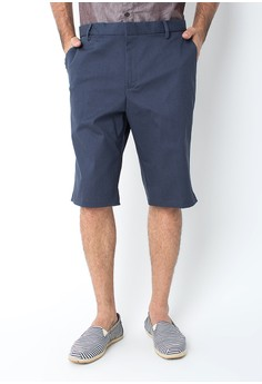 harga Cotton Twill Short Pants Navy Zalora.co.id