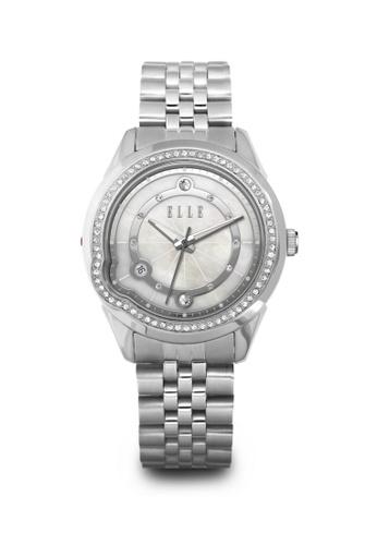 ELLE silver Fashion Ladies Watch EL105AC72LLNMY_1