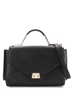 Top Handle Hardware Lady Bag