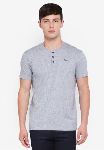 ESPRIT 海軍藍色 短袖T恤 9EFE7AA5937509GS_1