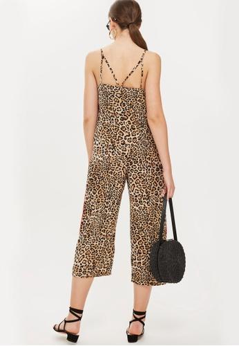 04fdd86cf4b6 Buy TOPSHOP Leopard Print Jumpsuit Online on ZALORA Singapore