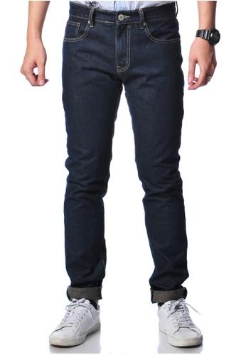 Bum Equipment blue B.U.M Equipment Men Jeans-Slim (MD BLUE) BU054AA0RR5CMY_1