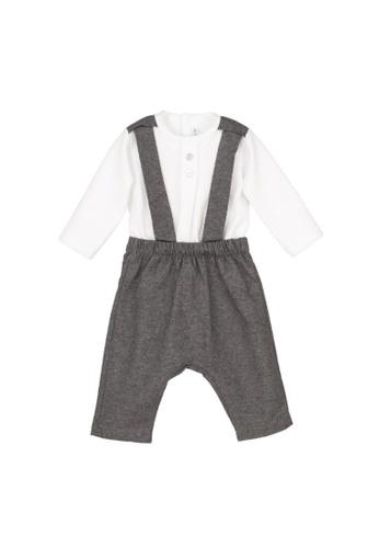 RAISING LITTLE multi Addy Romper Outfit Set 0AE25KA517EBCEGS_1