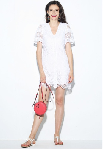 f82bed5576 Buy Guess Paradise Lace Dress Online on ZALORA Singapore