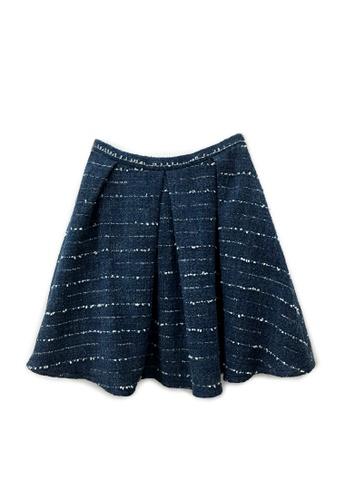 Sunnydaysweety blue Hong Kong Designer 1822 Simple Design Skirt DF031404-2 B640FAA715F00EGS_1