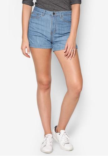 esprit 品牌中腰貼身丹寧短褲, 服飾, 短褲