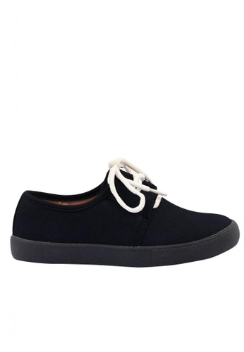Meet My Feet black Meet My Feet David (Boys Kids Sneakers) 188EEKS613F3E9GS_1