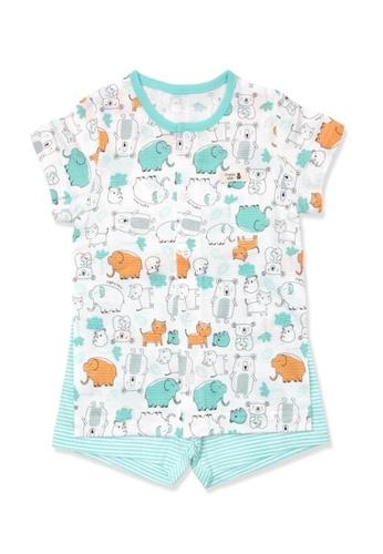 Organic mom Organic Cotton Potter Tiger Pajamas 70FFFKACB0F53CGS_1