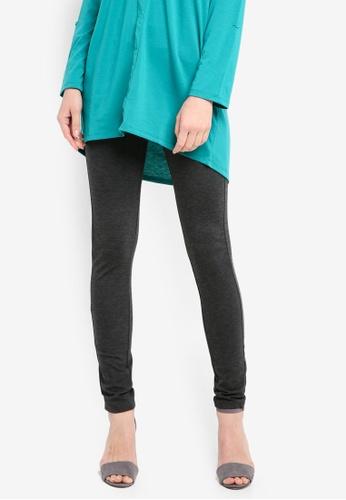 Zariya grey Long Pants 05471AA9BFA664GS_1