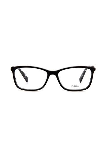 Furla Furla VFU028 Black Eyeglasses  FU454AC0RAMBMY_1