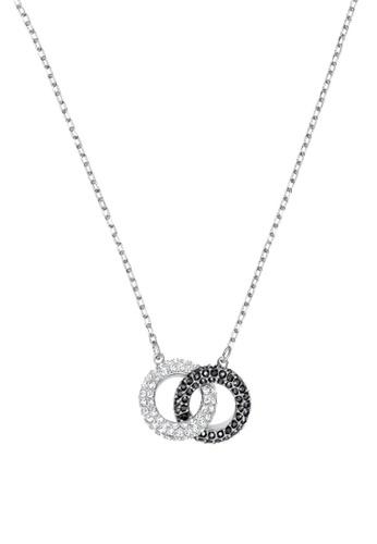 Swarovski silver Stone Double Necklace 94D3CAC4E41905GS 1 835d58d4e