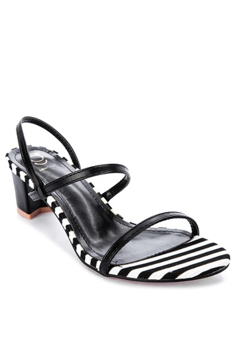 ABOUT A GIRL black Strappy Heels 06F35SHDA59004GS_1