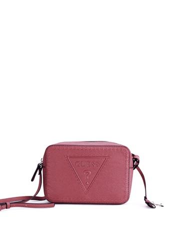 Buy Guess Guess Baldwinpark Crossbody Top Zip Bag Online on ZALORA ... ed5c44911a485