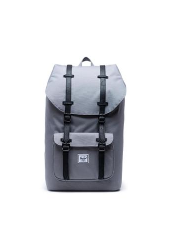 new specials cheapest closer at Buy Herschel Herschel Little America Backpack Grey/Black - 25L ...