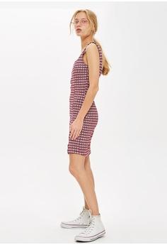 73b1a46568fb 60% OFF TOPSHOP Petite Check Mini Pinafore Dress S  76.90 NOW S  30.90  Sizes 6