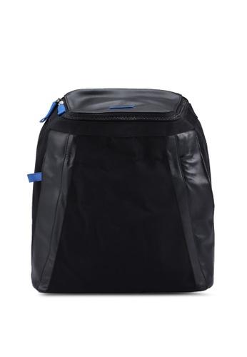 Volkswagen black Casual Backpack 0F971AC9C33B77GS_1