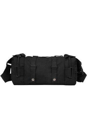 Lara black Plain Cross Body Bag - Black D21A7AC6EFC7AFGS_1