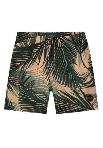 Shiwi green Boy's Printed Swim Shorts 40AB5KAD47E536GS_1