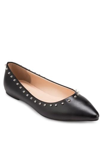 鉚釘箭頭平底鞋,esprit門市地址 女鞋, 鞋