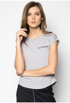 Basic Tee with Pocket Detail