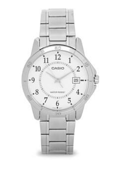 Round Analog Watch MTP-V004D-7B
