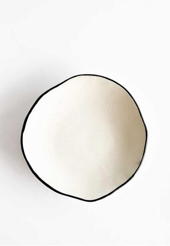 KRA Sanctuary white Andaman Free-Form Side Plate DE04FHLCBBACB8GS_1