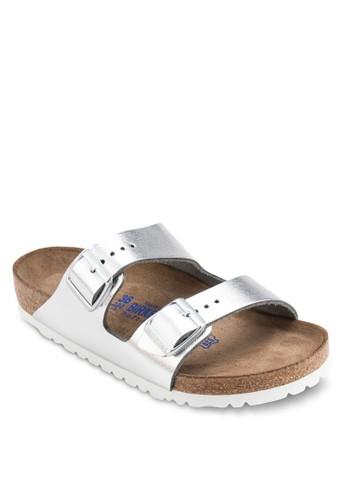 Arizona 雙扣環帶拖鞋涼鞋, 女salon esprit 香港鞋, 鞋